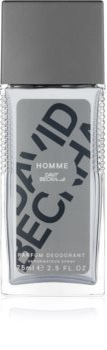 David Beckham Homme desodorizante vaporizador para homens