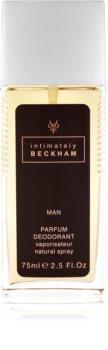 David Beckham Intimately Men deo mit zerstäuber für Herren
