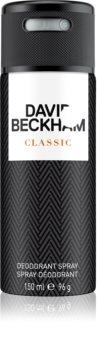 David Beckham Classic deodorant spray pentru bărbați