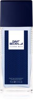 David Beckham Classic Blue deodorant s rozprašovačom pre mužov