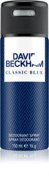 David Beckham Classic Blue deodorante spray per uomo