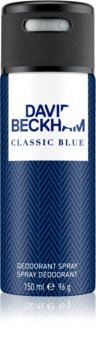 David Beckham Classic Blue desodorizante em spray para homens