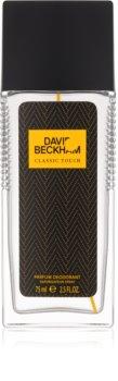 David Beckham Classic Touch deodorant s rozprašovačom pre mužov