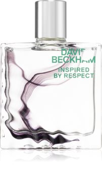 David Beckham Inspired By Respect After Shave