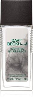 David Beckham Inspired By Respect deodorant s rozprašovačom pre mužov