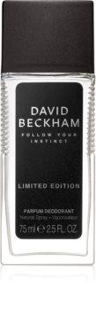 David Beckham Follow Your Instinct deodorant s rozprašovačom pre mužov
