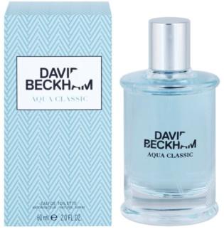David Beckham Aqua Classic Eau de Toilette para homens 60 ml