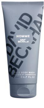 David Beckham Homme gel doccia per uomo