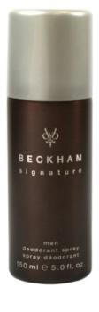 David Beckham Signature for Him desodorante en spray para hombre 150 ml