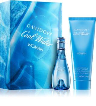 Davidoff Cool Water Woman lote de regalo XIX. para mujer