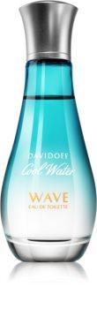 Davidoff Cool Water Woman Wave Eau de Toilette til kvinder