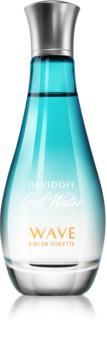 Davidoff Cool Water Woman Wave eau de toilette da donna