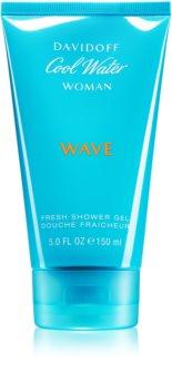 Davidoff Cool Water Woman Wave sprchový gél pre ženy