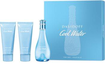 Davidoff Cool Water Woman Presentförpackning XI. för Kvinnor