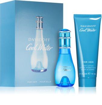 Davidoff Cool Water Woman set cadou I. pentru femei