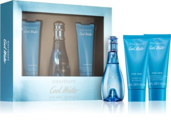 Davidoff Cool Water Woman coffret cadeau III. pour femme