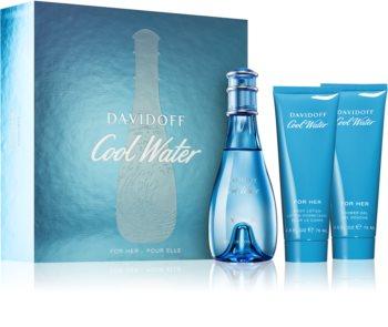 Davidoff Cool Water Woman zestaw upominkowy II. dla kobiet