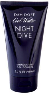 Davidoff Cool Water Night Dive gel de duche para homens 150 ml