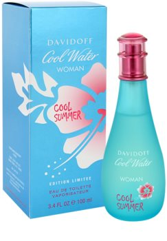 Davidoff Cool Water Woman Cool Summer eau de toilette pentru femei 100 ml