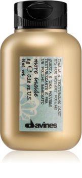 Davines More Inside matující objemový pudr