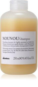 Davines NouNou tápláló sampon száraz és törékeny hajra