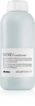 Davines Minu Caper Blossom защитен балсам за боядисана коса