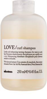 Davines Love Almond champú para cabello ondulado