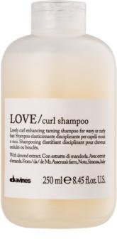 Davines Love Almond šampon za valovite lase