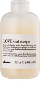 Davines Love Almond Shampoo For Wavy Hair