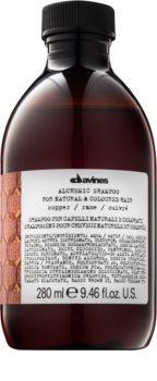 Davines Alchemic Copper šampon pro zvýraznění barvy vlasů