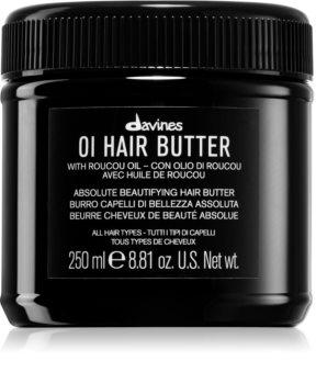 Davines OI Hair Butter Diepe Voedende Butter  voor Onhandelbaar en Pluizig Haar