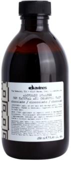 Davines Alchemic Chocolate šampon za intenzivnost barve las