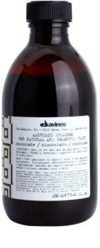 Davines Alchemic Chocolate Shampoo for Hair Color Enhancement