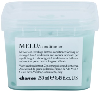 Davines Melu Lentil Seed Gentle Conditioner For Damaged And Fragile Hair