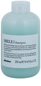 Davines Melu Lentil Seed Gentle Shampoo For Damaged And Fragile Hair