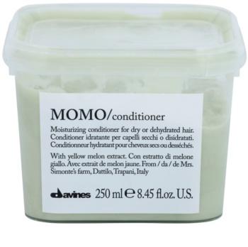 Davines Momo Yellow Melon condicionador hidratante para cabelo seco