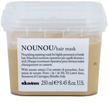 Davines NouNou Maske mit ernährender Wirkung für beschädigtes, chemisch behandeltes Haar