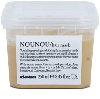 Davines NouNou Nourishing Mask For Damaged, Chemically Treated Hair
