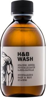 Dear Beard Shampoo H & B Wash champô e gel de duche 2 em 1