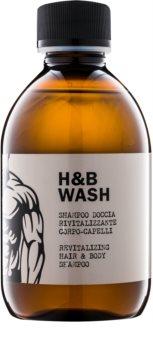 Dear Beard Shampoo H & B Wash sampon és tusfürdő gél 2 in 1
