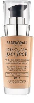 Deborah Milano Dress Me Perfect Natural Finish Foundation SPF 15