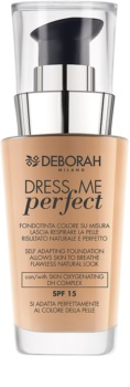 Deborah Milano Dress Me Perfect természetes hatású make-up  SPF 15