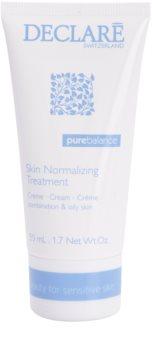 Declaré Pure Balance krem normalizujący na zmniejszenie produkcji sebum i minimalizujący pory