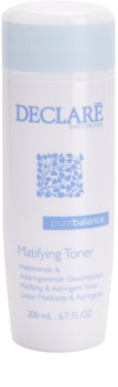 Declaré Pure Balance tónico de limpeza adstringente para diminuição de poros e aspeto mate