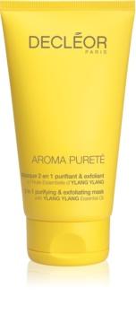 Decléor Aroma Pureté máscara de limpeza oxigenante 2 em 1