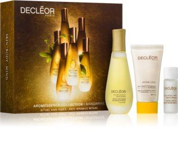 Decléor Aromessence Mandarine kosmetická sada (proti vráskám a tmavým skvrnám) pro ženy