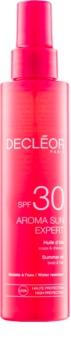 Decléor Aroma Sun Expert olejek do opalania do ciała i włosów SPF 30