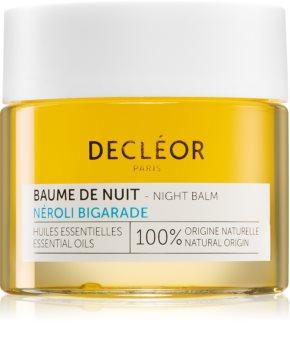 Decléor Néroli Bigarade Baume de Nuit baume de nuit hydratant régénération intense aux huiles essentielles