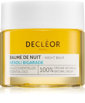Decléor Néroli Bigarade Baume de Nuit nočni vlažilni balzam za intenzivno obnovo kože z eteričnimi olji
