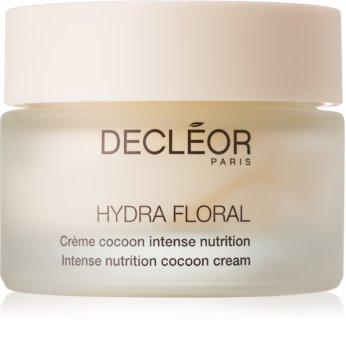 Decléor Hydra Floral nährende und schützende Creme für trockene bis sehr trockene Haut